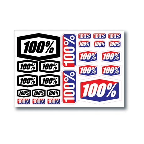 100% Decal Sheet