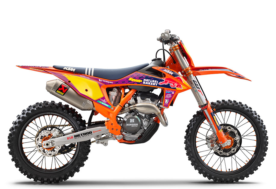 KTM 250 SX-F 2021 Troy Lee Designs