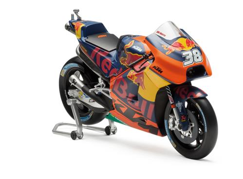 KTM MotoGP Smith Pienoismalli